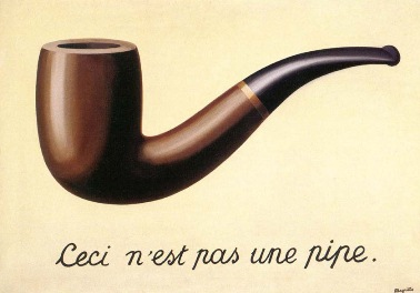 The Treachery of Images, René Magritte